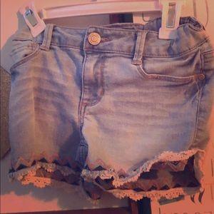 Gray jean mudd shorts